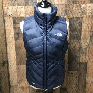 The North Face 550 Down Vest Blue Women's Small